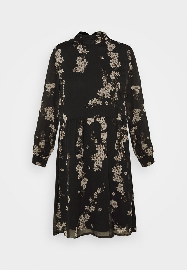 VMTILI HIGH NECK DRESS  - Day dress - black