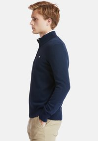 Timberland - WILLIAMS RIVER FULL ZIP - Cardigan - dark sapphire - 3