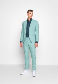 Selected Homme - SLHSLIM MYLOLOGAN - Suit - green milieu - 1