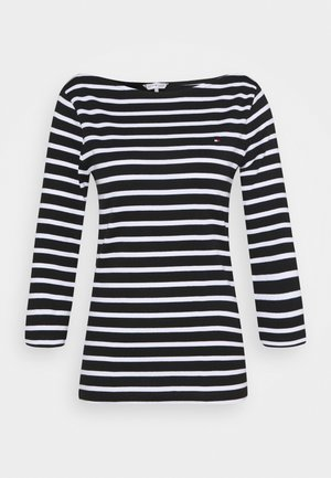 AISHA BOAT - Long sleeved top - black
