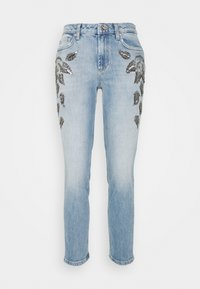 Liu Jo Jeans - CUTE  - Slim fit -farkut - denim blue leaf - 0