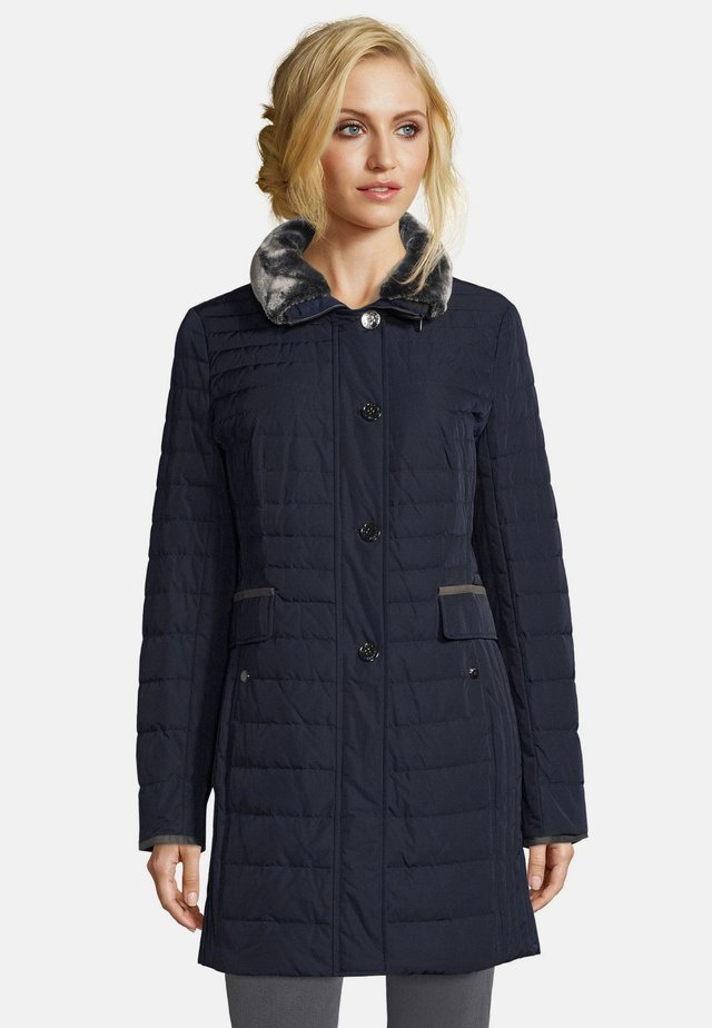 GIL BRET  - Down coat - dress blues