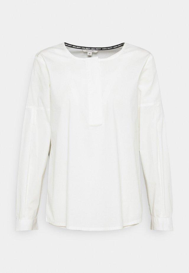 Bluzka z długim rękawem - off white