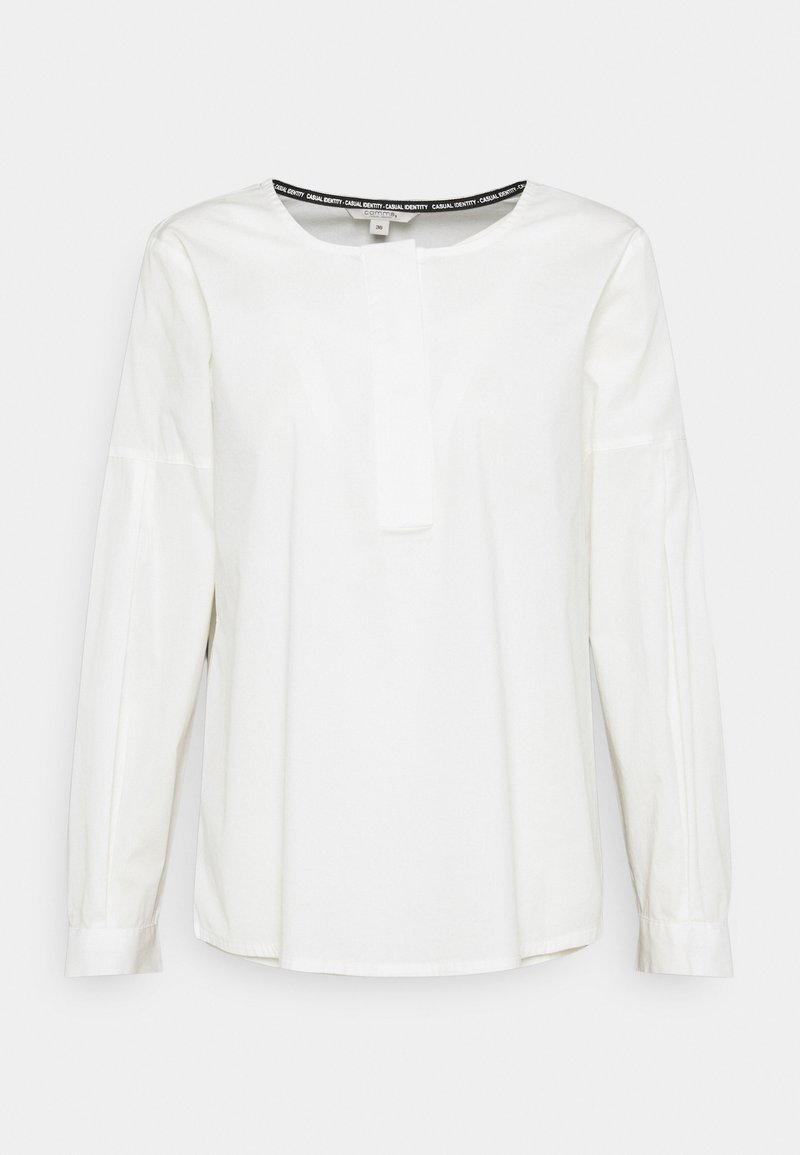comma casual identity - Long sleeved top - off white
