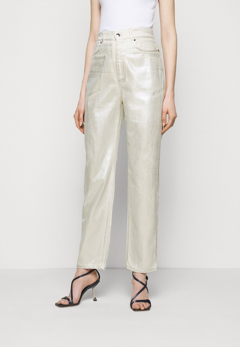 Sportmax - LACCA - Flared Jeans - silber