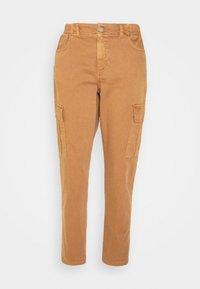 TROUSER - Cargo trousers - walnut