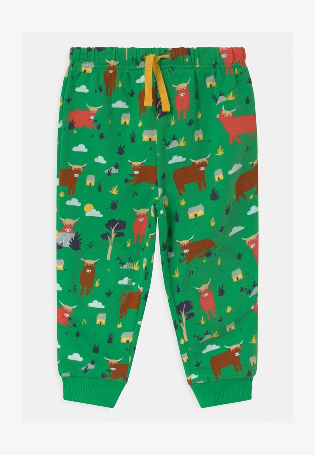 SNUGGLE CRAWLERS BABY UNISEX - Pantalones - green