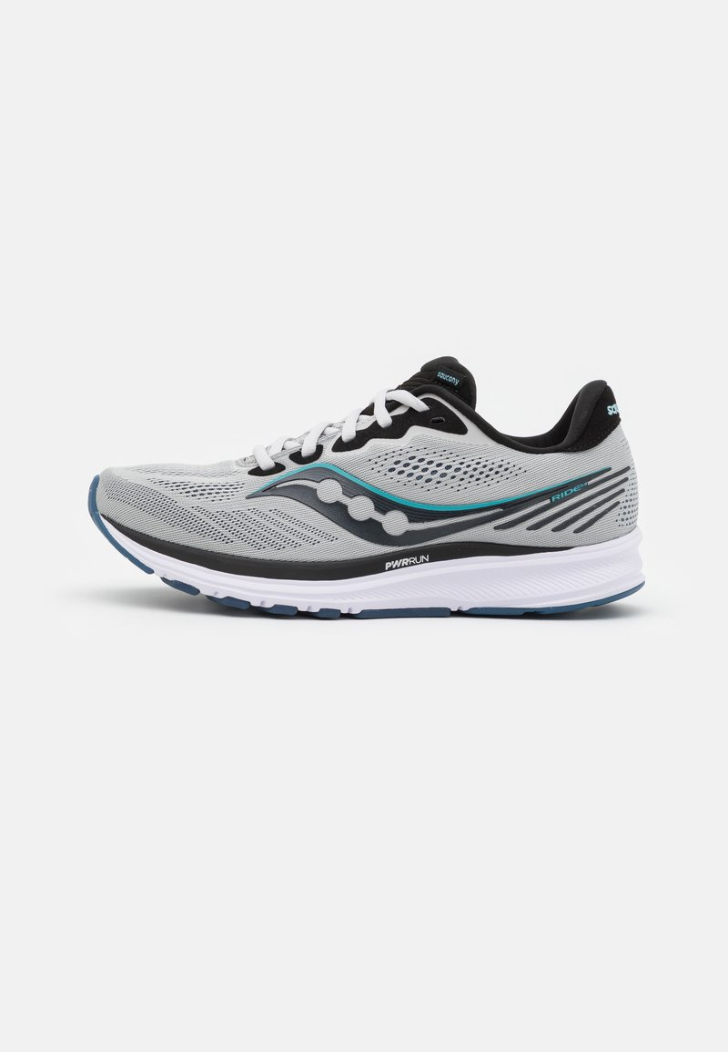 Saucony - RIDE 14 - Neutral running shoes - fog/black/storm