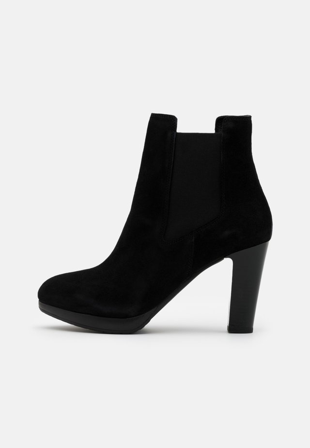 SLFGRACE CHELSEA  - High heeled ankle boots - black