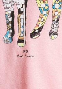 PS Paul Smith - SLIM FIT ZEBRA UNISEX - Print T-shirt - pink - 6