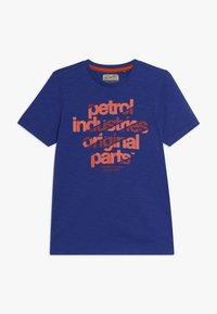 Petrol Industries - Triko spotiskem - light capri - 0