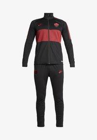 Nike Performance - AS ROM DRY SUIT - Klubbkläder - black/team crimson - 6