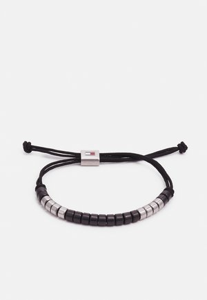 BRUSHED BEADED BRACELET - Bracelet - black