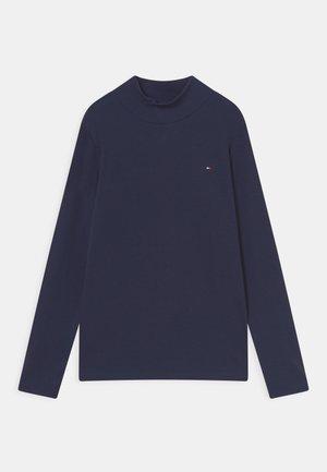 MOCK NECK - Long sleeved top - twilight navy