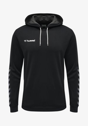HMLAUTHENTIC - Hoodie - black/white