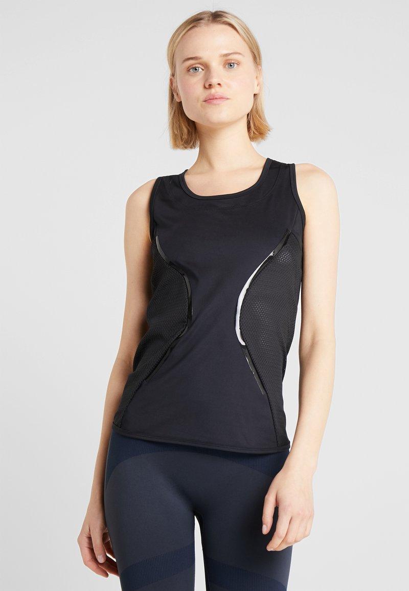 adidas by Stella McCartney - ESSENTIALS TANK - Sports shirt - black