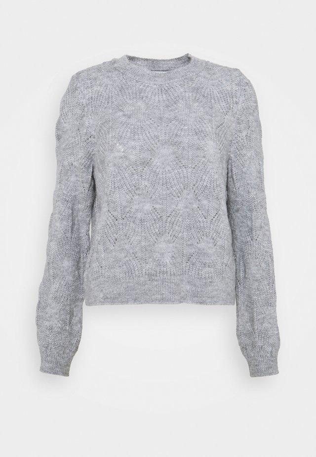 ONLSOFIA - Pullover - light grey melange