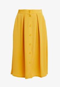 Monki - SIGRID SKIRT - A-line skirt - mustard - 3