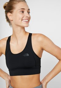The North Face - BOUNCE BE GONE BRA - Medium support sports bra - black - 3