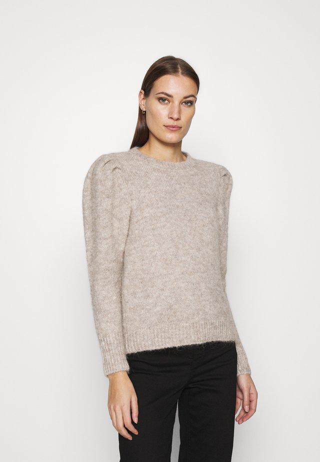 DOA - Sweter - tannin melange