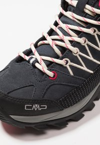 CMP - RIGEL MID TREKKING SHOE WP - Hikingschuh - antracite/offwhite - 5