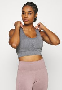 Sweaty Betty - STAMINA WORKOUT BRA  - Sports bra - charcoal marl - 0