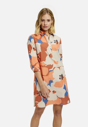 Shirt dress - kitt print