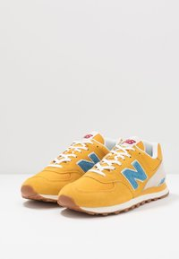 New Balance - 574 - Sneakersy niskie - blue/yellow - 2