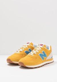 New Balance - 574 - Tenisky - blue/yellow - 2