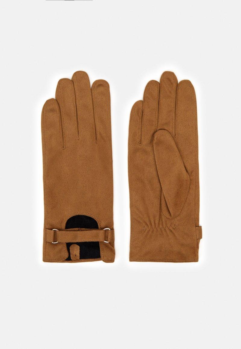 Anna Field - Gloves - cognac