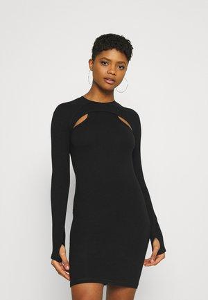 SHIRIN - Jerseykjole - black