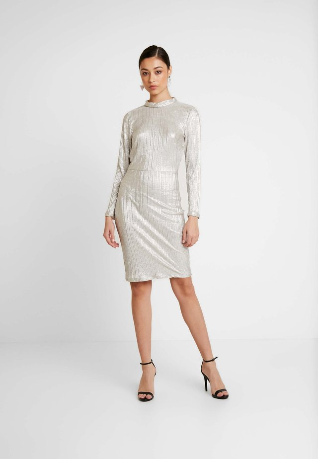 OPEN BACK DRESS - Cocktail dress / Party dress - silver
