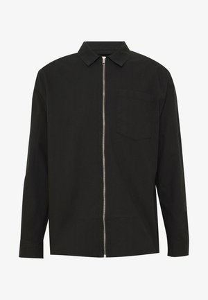 ZIP THRU  - Shirt - black