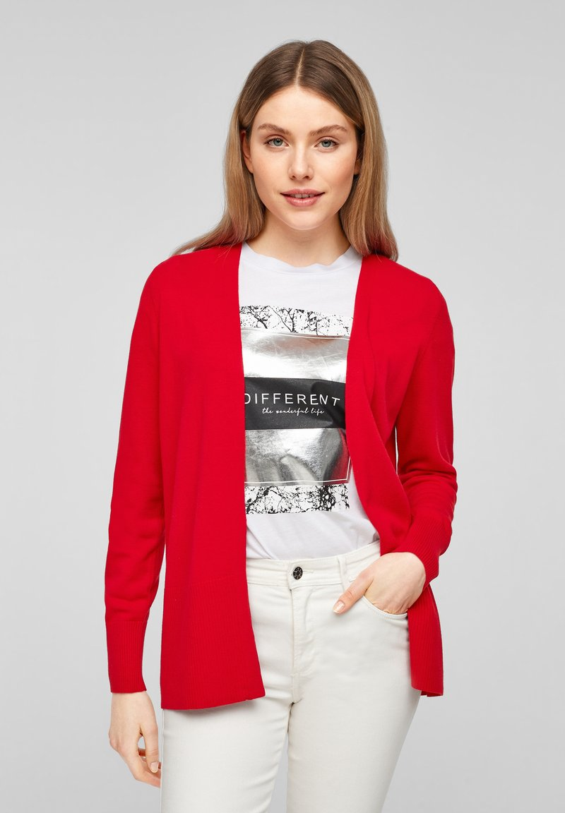 s.Oliver - Cardigan - red