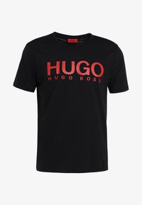 HUGO - DOLIVE - T-shirts print - black - 3