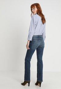 Esprit - Bootcut jeans - blue dark wash - 2