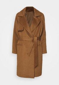 Classic coat - golden camel