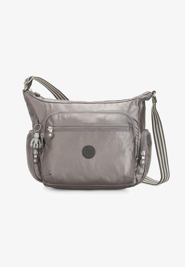 BASIC PLUS GABBIE - Across body bag - carbon metallic