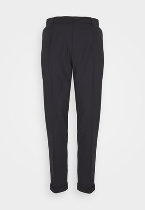 SASHA PLEATED PANTS - Trousers - navy