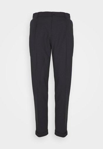 SASHA PLEATED PANTS - Pantaloni - navy