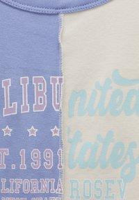 PULL&BEAR - Top - light blue - 5