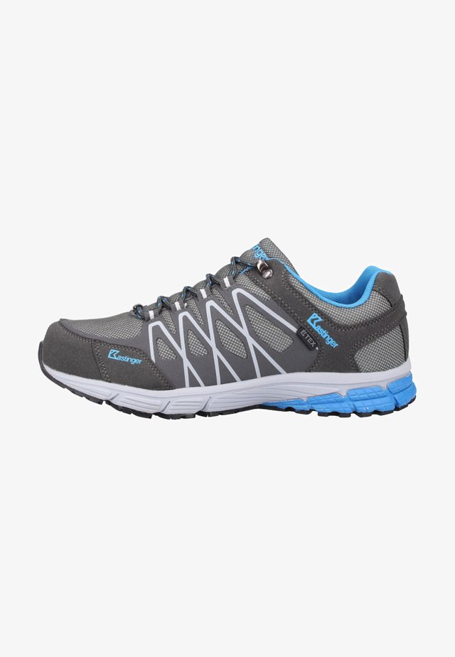 Hiking shoes - charcoal/blue