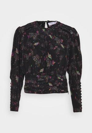 LORELLI - Maglietta a manica lunga - black/multico