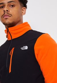 The North Face - GLACIER PRO 1/4 ZIP  - Fleece jumper - flame/black - 8