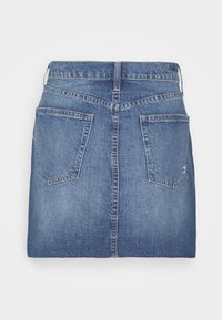 GAP Petite - MINI A LINE SKIRT - Mini skirt - medium indigo - 1