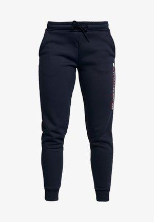 BIG LOGO - Teplákové kalhoty - blue