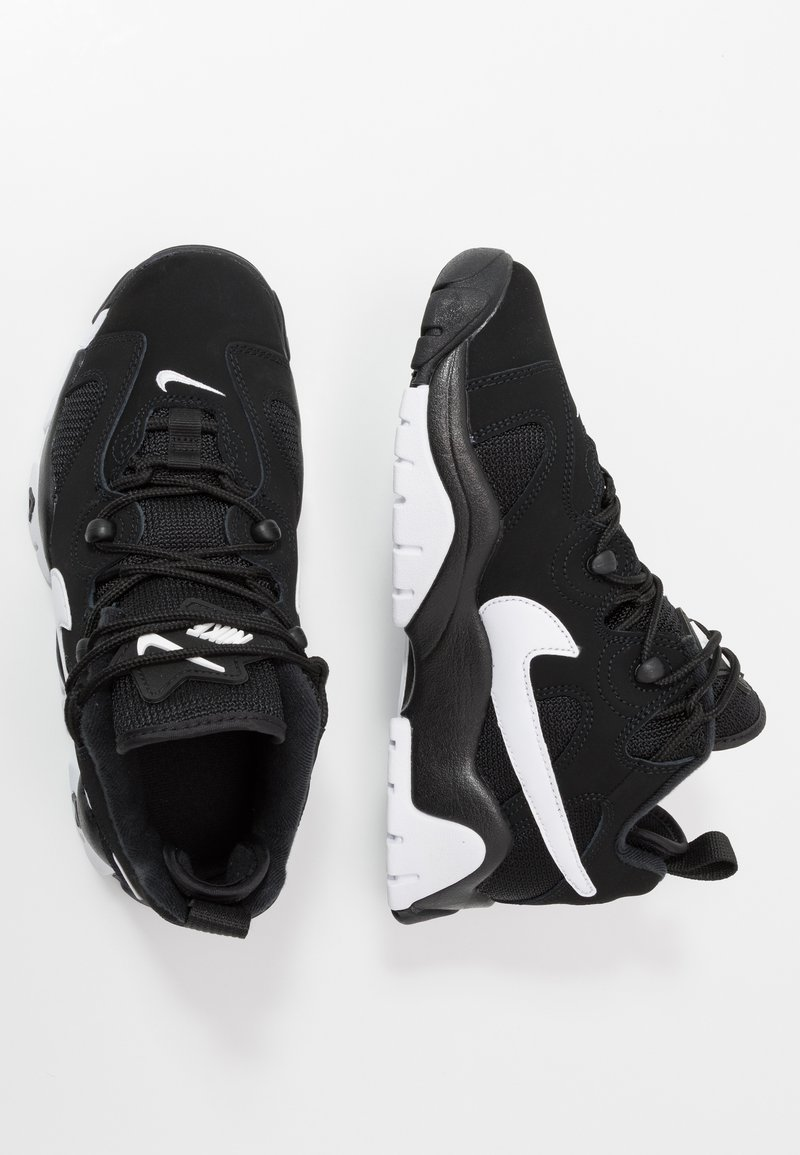 Nike Sportswear - AIR BARRAGE - High-top trainers - white/hyper blue