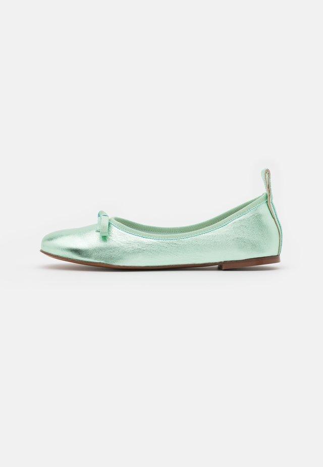BALLET - Ballerina's - mint metallic