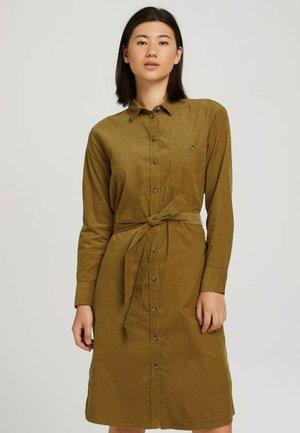 Shirt dress - khaki olive