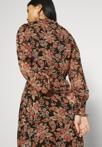 Esqualo - DRESS FLOWER PRINT - Day dress - multicoloured - 6